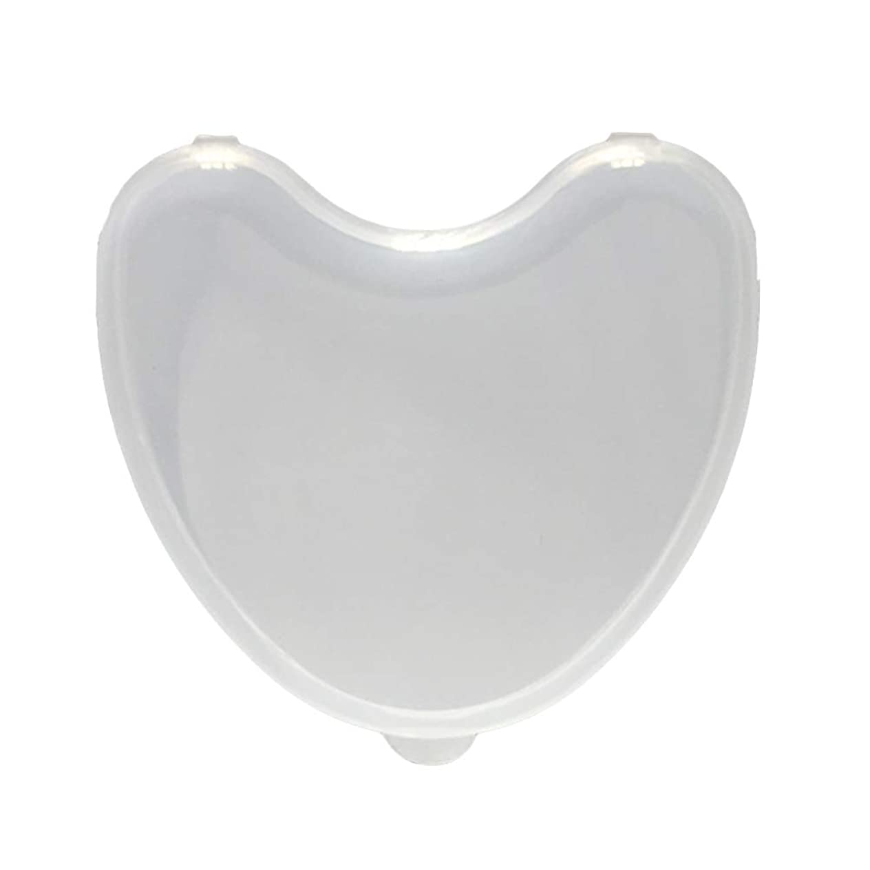 ヘルメット合図取り替えるHealifty 義歯ボックス透明偽歯コンテナ旅行用
