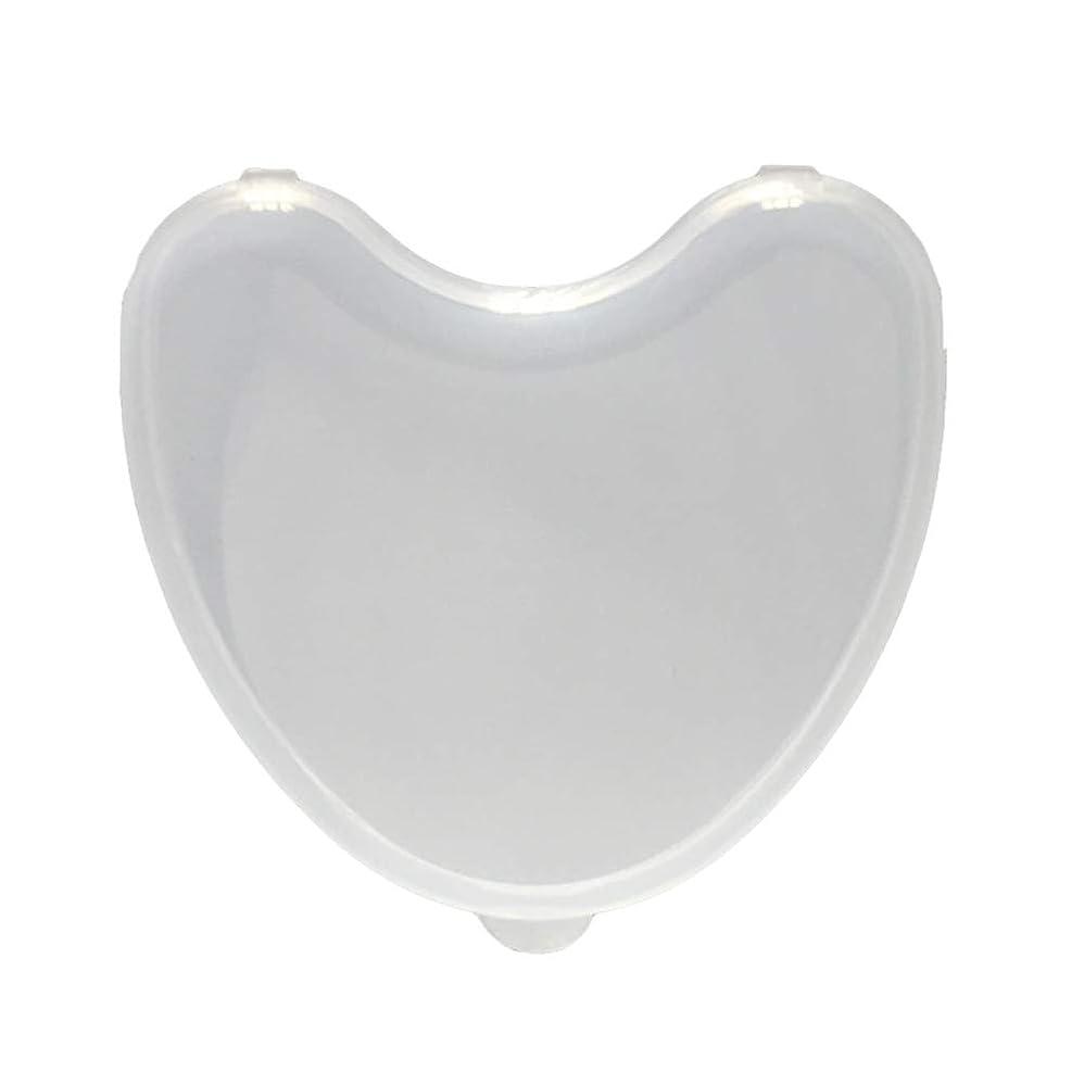 コンピューター軍マーキングHeallily 義歯ケース1ピース義歯収納ボックス透明偽歯収納ボックスコンテナ用日常使用