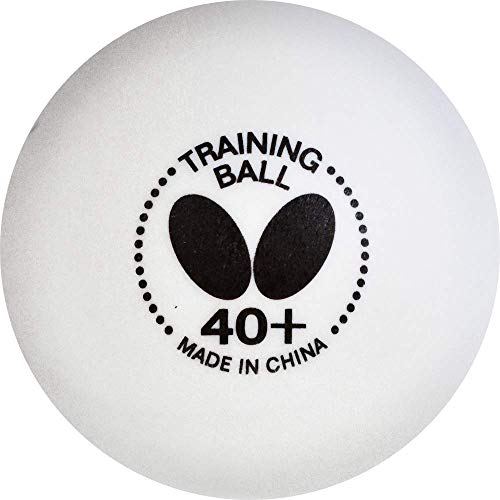 Butterfly 40+ Training Ball – 40+ Ball Used for Training – Box...