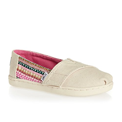 Toms Shoes - Toms Youth Alpargata Shoes - Natural Hemp/Mud Hut