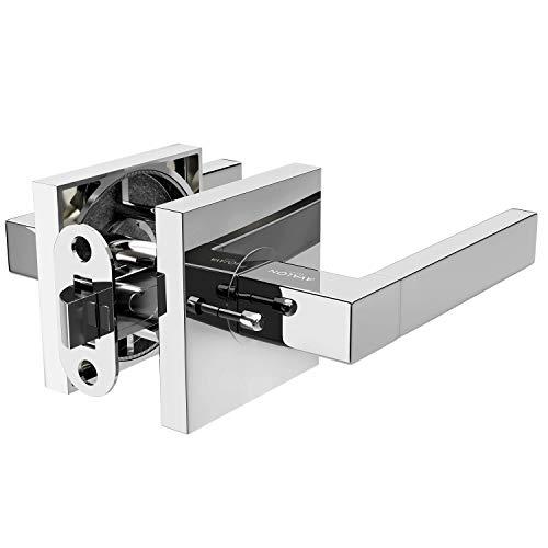 chrome bathroom door handles - 6