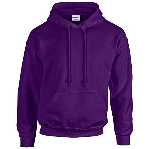Gildan - Unisex Kapuzenpullover 'Heavy Blend' , Purple, Gr. L