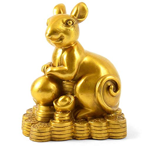 aasdf Feng Shui Statue Chinese Ornament Brass Zodiac...