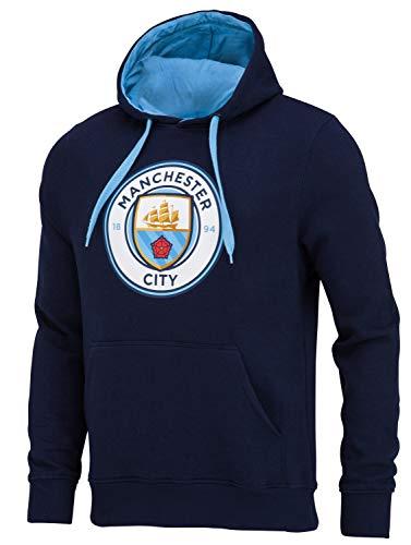 Manchester City sweatshirt met capuchon, officiële collectie, herenmaat