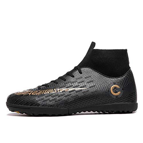 Botas de fútbol Zapatos de fútbol Unisex Niños Moda vanguardista Uñas rotas Zapatos de fútbol Profesional de Alta tecnología Tamaño Europeo estándar