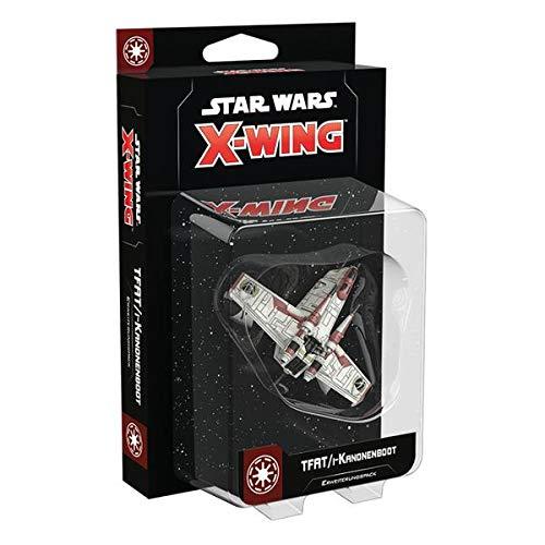 X Wing FFGD4158 Asmodee Star Wars 2. Ed. TFAT/i-Kanonenboot Erweiterung, Tabletop, Deutsch