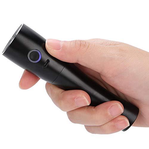 Rociador nano de la niebla, herramientas del cuidado de la piel del humectador del rociador nano de la niebla de la cara portátil de 25ml(black)
