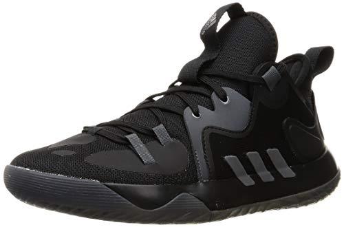 adidas Harden Stepback 2, Zapatillas de Baloncesto Unisex Adulto, NEGBÁS/HIEMET/GRISEI, 42 2/3 EU