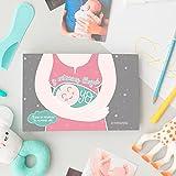 Mimuselina Álbum Recuerdos del Primer Año del Bebé. Y Entonces Llegué Yo, Libro Tapa Dura álbum de fotos e información desarrollo de bebés recién nacidos mes a mes