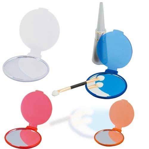 DISOK Lote 100 Espejos Plasticos Woman. Espejos Muy Baratos de Bolsillo, Mano para Detalles de Bodas, Comuniones y Bautizos. Espejitos Baratos y Originales