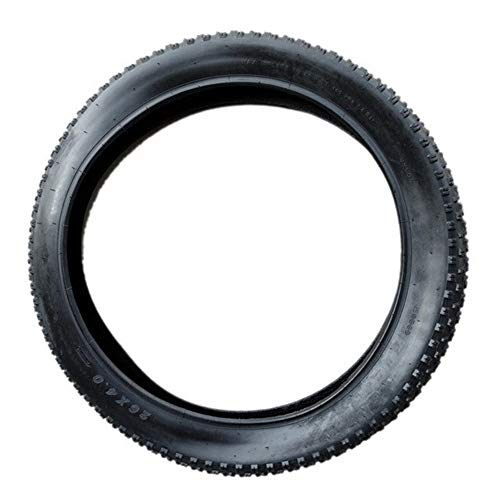 llsdls MTB Fahrrad-Reifen 26x4.0 Zoll Reifen Wear kompatibel Fahrrad Breitreifen Mountainbike Fat Tire Schnee Reifen Reifen Mountainbike Widen