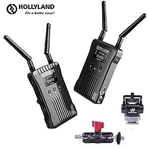 【技適マーク認証】Hollyland Mars 400SワイヤレスSDI HDMIビデオ伝送システム、OLEDディスプレイによるiOSおよびAndroidアプリのモニタリング、外部オンカメラモニター用の400フィート3シーンレシーバーDSLRミラーレスカメラジンバル【2年間保証】