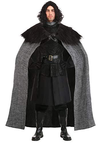 Dark Northern King Knight Linen Costume Set