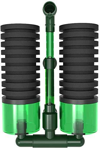 Schwammfilter Aquarium Color You Aquarium Filter für Aquarium leise Bio-Schwammfilter mit Erhöhung des Sauerstoffgehalts, Aquarium-Aquariumfilter für mehr als 60 cm Aquarium