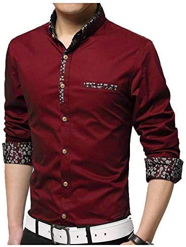Fashion Mart India Men's Regular Fit Casual Shirt