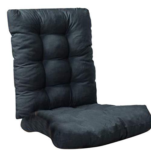 Cojines de silla de jardín con respaldo,Cojines gruesos de asiento de jardín,Cojín de asiento de sofá al aire libre para el hogar jardín relajarse