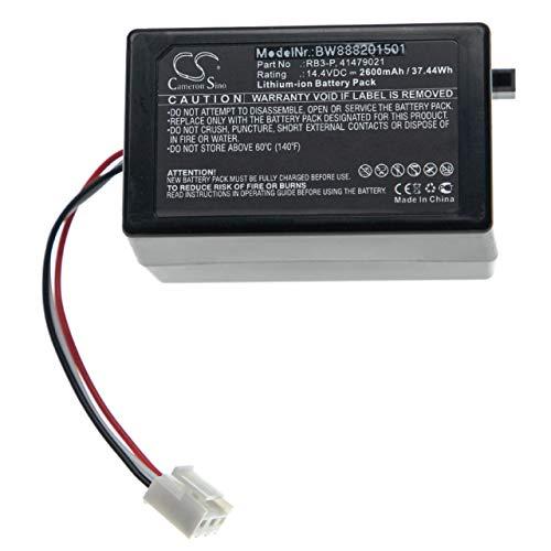 vhbw batterie remplace Toshiba RB3-P, 41479021 pour aspirateur Home Cleaner (2600mAh, 14,4V, Li-Ion)