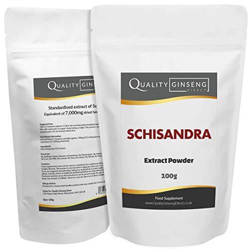 SCHISANDRA - Pure 10:1 Extract Powder - Strength & Quality (100g)
