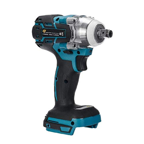 18V Electric Impact Wrench,1/2 inch Brushless Cordless,Torque 520Nm Wrench Power Tool Impact Frequency:0-4000ipm