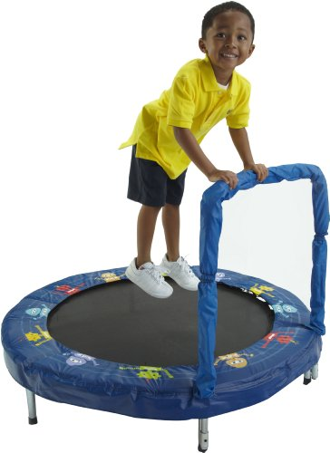 JumpKing Kindertrampolin Bazoongi - ø 121 cm