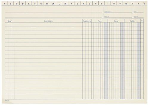 Data Ufficio 155300000 hoja y libro contables - hojas y libros contables Color blanco
