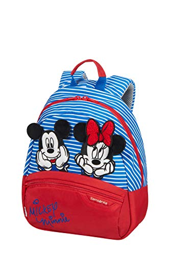Samsonite Disney Ultimate 2.0 Zainetto per Bambini S, 28.5 cm, 7 L, Multicolore (Minnie/Mickey Stripes)