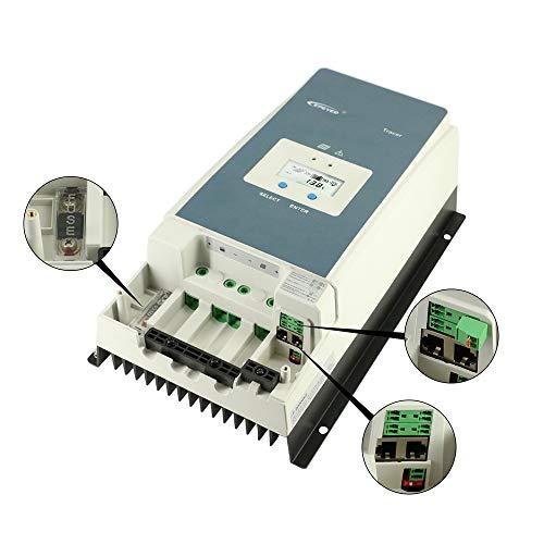 EPEVER 100A MPPT Solar Charge Controller 150V PV Input Negative Ground 100 amp Solar Regulator Work with 12V 24V 36V 48V AGM Sealed Gel Flooded Battery Syatem