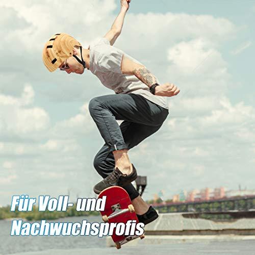 Vihir Erwachsene Fahrradhelm Skaterhelm E-Scooter E-Roller BMX Fahradhelm Herren Damen Sport Helm für Männer & Frauen Schwarz Weiß Dunkelgrau (L/XL 56-62CM, Holzmaserung) - 7