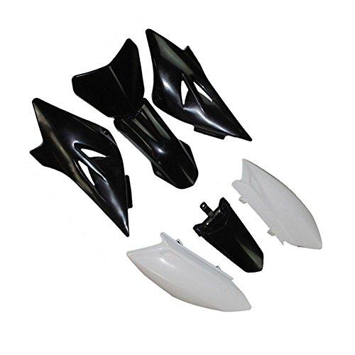 YAMAHA TTR50 TTR 50 AFTERMARKET PLASTICS FENDER KIT BLACK