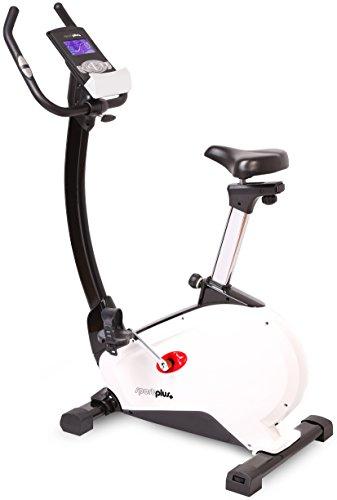 SportPlus - Vélo d'appartement / Ergomètre - Avec Application de contrôle - Google Street View -...