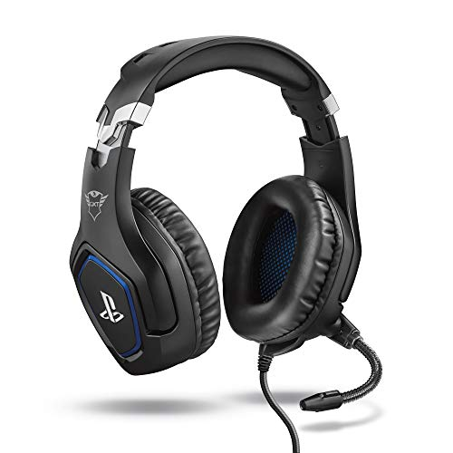 Trust Gaming Cascos PS4 y PS5 Auriculares de Gaming GXT 488 Forze,...
