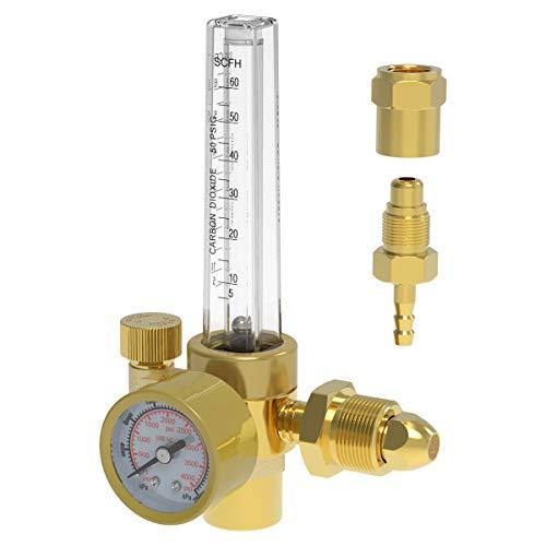 Yeswelder Argon/CO2 Mig Tig Flow Meter Gas Regulator Gauge Welding Weld