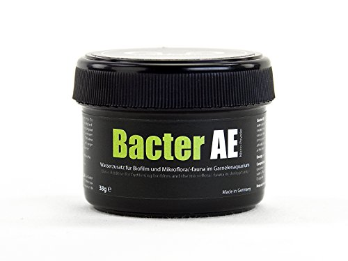 GlasGarten Bacter AE Shrimp Tank Treatment (35g) | Nutrients for Live Freshwater Shrimp Food/Aquarium Water (Neocaridina, Amano, Red Cherry, Rili)