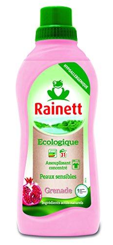 Rainett  Assouplissant Ecologique Concentr Grenade  750 ml  Lot de 3