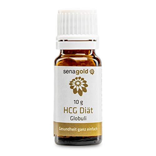 Senagold HCG Diät Globuli – Innovative Entwicklung für Ihre Stoffwechselkur – hormonfreie & höchste Qualität aus deutscher Herstellung – (21 Tage Kur) (10 Gramm)