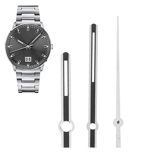 Cuque Reloj de Segunda Mano, Ligero, Compacto, para Hombre, con Movimiento 2836, manecillas de Reloj, manecillas de Reloj, para Trabajadores de reparación de Relojes, relojeros