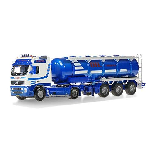 Modelo de automóviles 1:50 Aleación de ingeniería de transporte Modelo de vehículo Simulación Petrolero Modelo de petróleo de combustible móvil Camión de fundición Coche Decoración de regalo de juguet