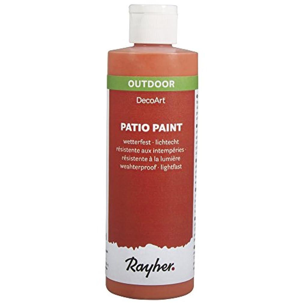 RAYHER Patio Paint 236?ml Bottle Orange