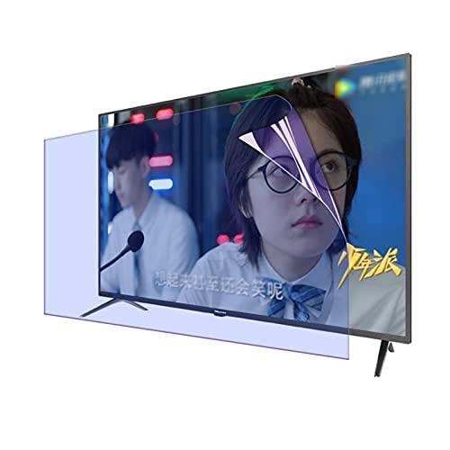 GFSD Protector Pantalla TV/Monitor Computadora 27-75 Pulgadas, Filtro de Luz Antirreflejo/Antiazul, for Sharp, Sony, Samsung, Hisense, LG Etc Monitor TV
