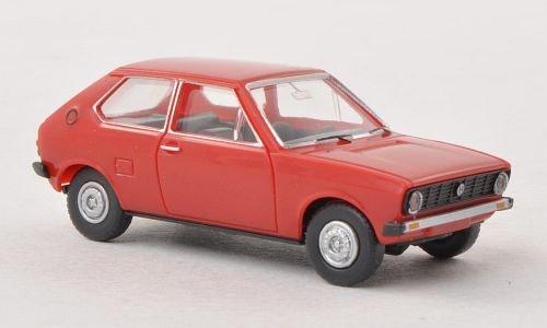 VW Polo I, rot , Modellauto, Fertigmodell, Wiking 1:87