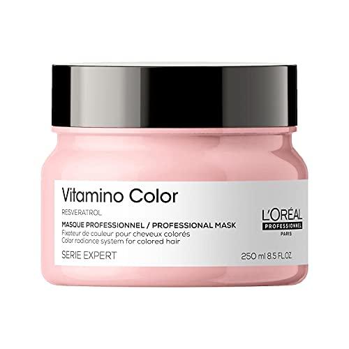 L'Oréal Professionnel Paris Maschera Professionale per Capelli Colorati Vitamino Color...