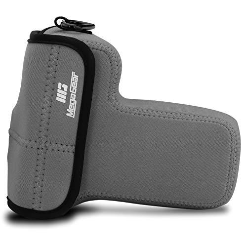 MegaGear MG1824 Ultraleichte Neopren-Kameratasche, kompatibel mit Nikon Z50 (50-250 mm), Grau