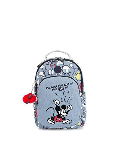 Kipling Mickey Plus Eyes Wide Open D Seoulgos Small Backpack Threechrb2