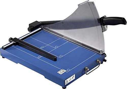 Olympia G 3120 Profi Hebelschneidegerät (mit Positionierhilfen, DIN A4, 20 Blatt, Metallauflage, Stapelschneider mit Schneidelineal, Papierschneidemaschine für Büro)