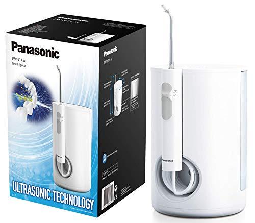 Panasonic Ultra Sonic Stream EW1611W503 Munddusche (elektrisch, Zahnzwischenraumreinigung, stationär, integrierte Ladestation, Kabelnutzung) weiß