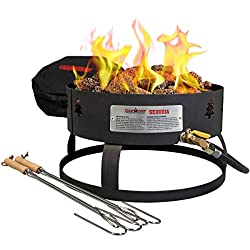 small Camp Chef GCLOGM Portable Campfire Pit