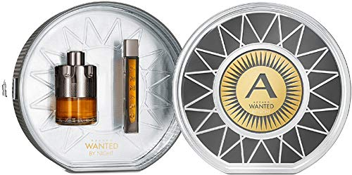 Azzaro 58007 Set Wanted By Night Eau de Parfum y Eau de Parfum, 115 ml