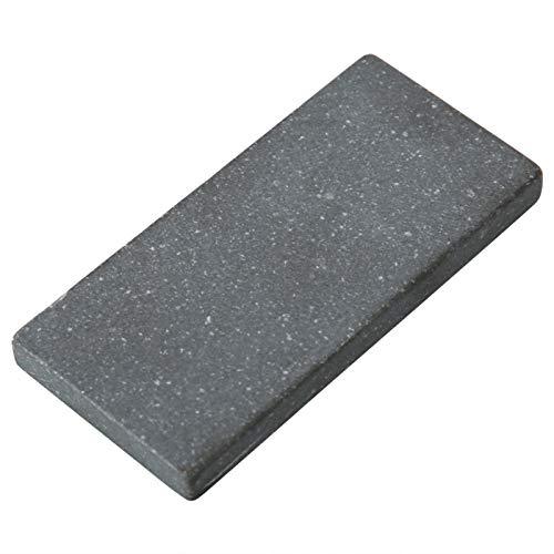 Wosune Piedra de detección de Oro, Touchstone Piedra de detección de Oro portátil Práctica para Oro Antiguo para Plata (Small)