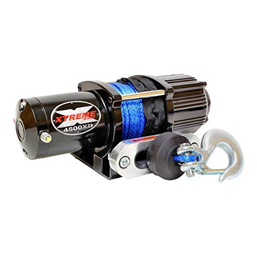 Great Features Of XTREME Winch 4500LB ATV Winch With Model Specifc Mount Fits ARCTIC CAT 96-01