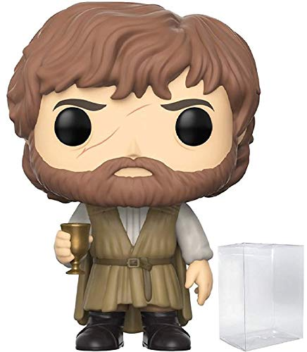 Game of Thrones: Tyrion Lannister Funko Pop! Vinyl Figure (Includes Compatible Pop Box Protector Case)